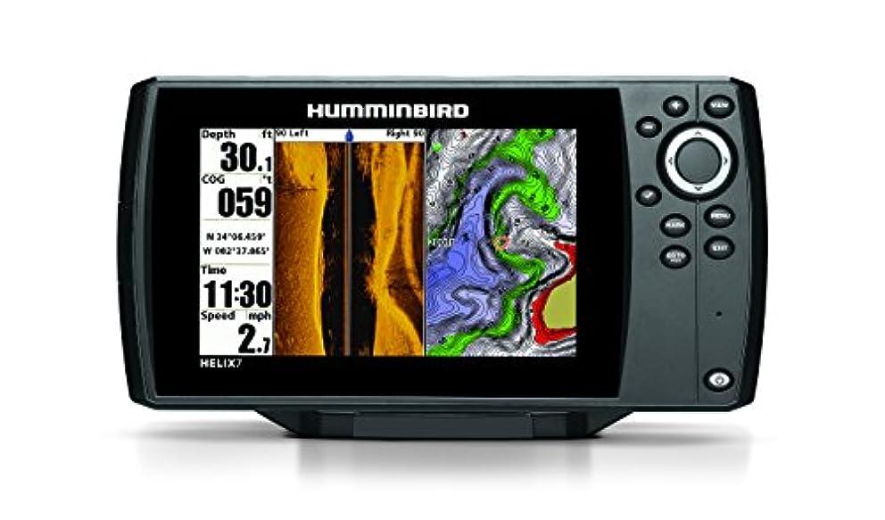 イル興奮約設定HUMMINBIRD(ハミンバード) へリックス HELIX 7SI GPS(HOT MAPS JAPANセット) GPSマップ付き