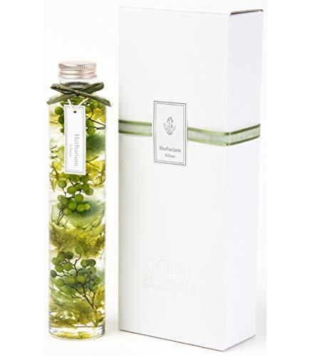 フェリナス ハーバリウム 丸瓶(1本) グリーン