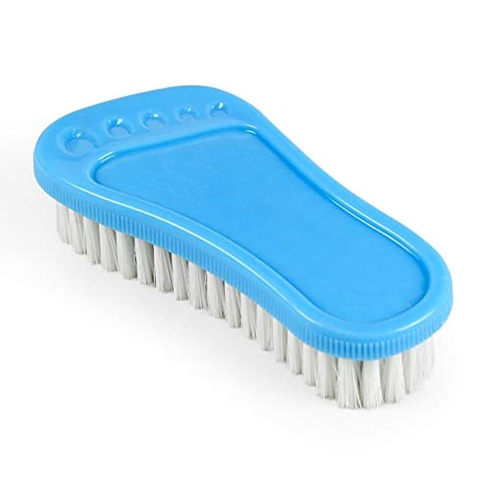 崇拝する所属ピジンポアクリーニング 小さな足首プラスチックの柔らかい髪多目的靴のブラシ洗面器のブラシのクリーニングブラシバスのブラシ2 PCS マッサージブラシ