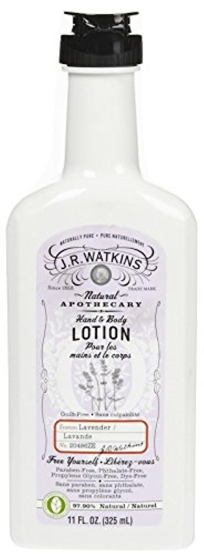 保険をかけるスイス人ヨーロッパJ.R.Watkins Hand & Body Lotion H&B ローション [ラベンダー] ボディローション