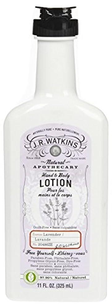 良心セットアップ襟J.R.Watkins Hand & Body Lotion H&B ローション [ラベンダー] ボディローション