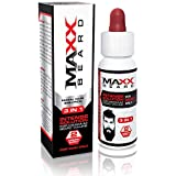 Maxx Beard -#1 Beard Growth Solution, Natural Solution for Maximum Beard Volume-2 Month Supply