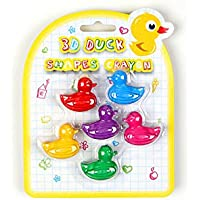 Duckクレヨン – 誕生日パーティーFavors – セットof 6