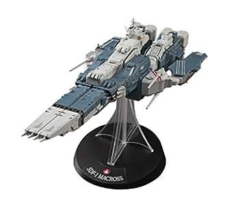 超時空要塞マクロス SDF-1 マクロス要塞艦 w/プロメテウス & ダイダロス 1/4000スケール プラモデル 65830