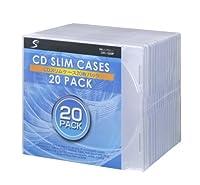 東京ニーズ スリム CDケース 20枚パック [CDC1S20P]