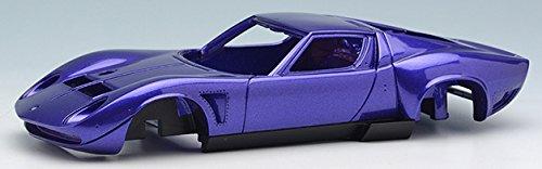 EIDOLON 1/43 ランボルギーニ イオタ SVR #3781 1975 メタリックパープル / ブラック (ライトグレーモケットスキンベース)