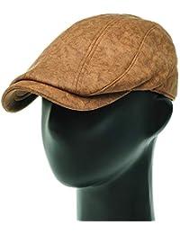 [PLIC N PLOC]EMH08.ソフト切開メンズベレー帽 ハンチング フラットキャップ帽子 鳥打ち帽 春 秋