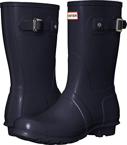Hunter Women's Original Short Boots, Navy, 6 AU/US, (37 EU)