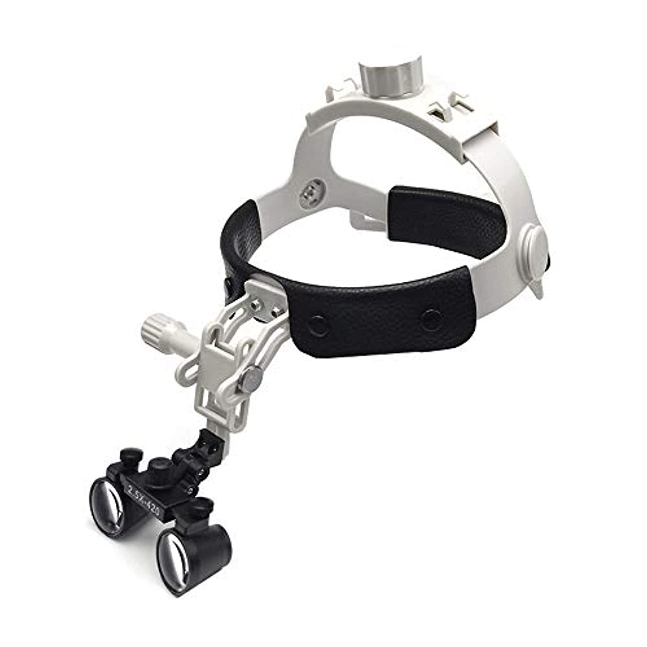 アルミニウム吸収剤科学者レザーケアと拡大鏡を身に着けて軽量小型レンズ2.5倍