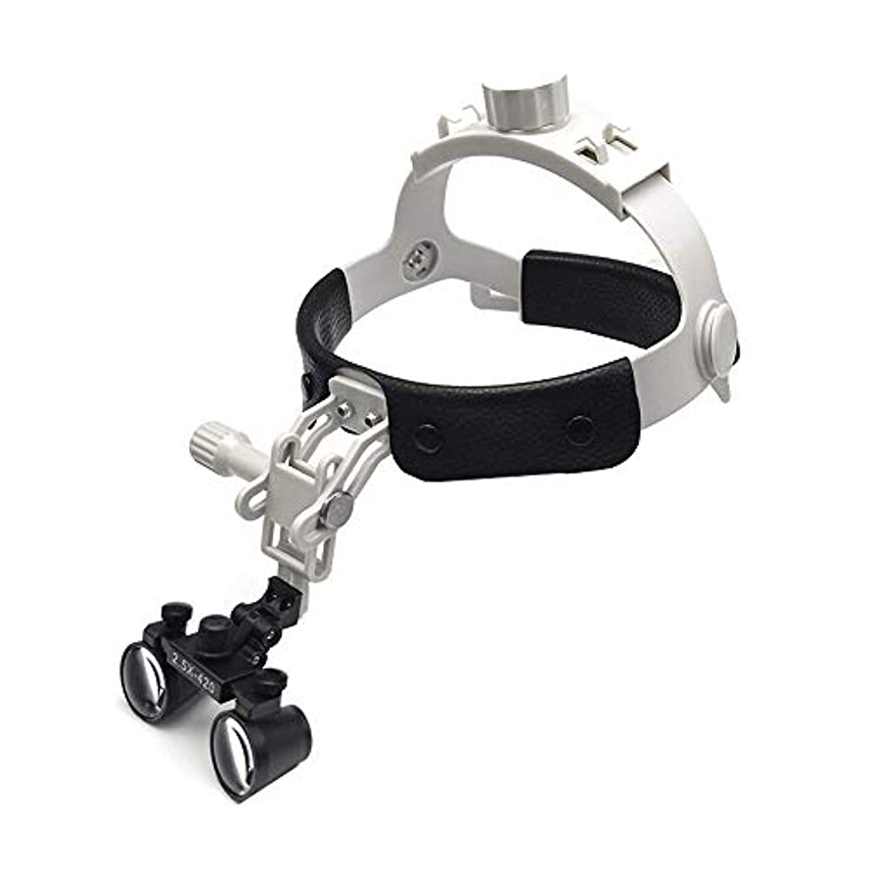 バリー納税者セラフレザーケアと拡大鏡を身に着けて軽量小型レンズ2.5倍