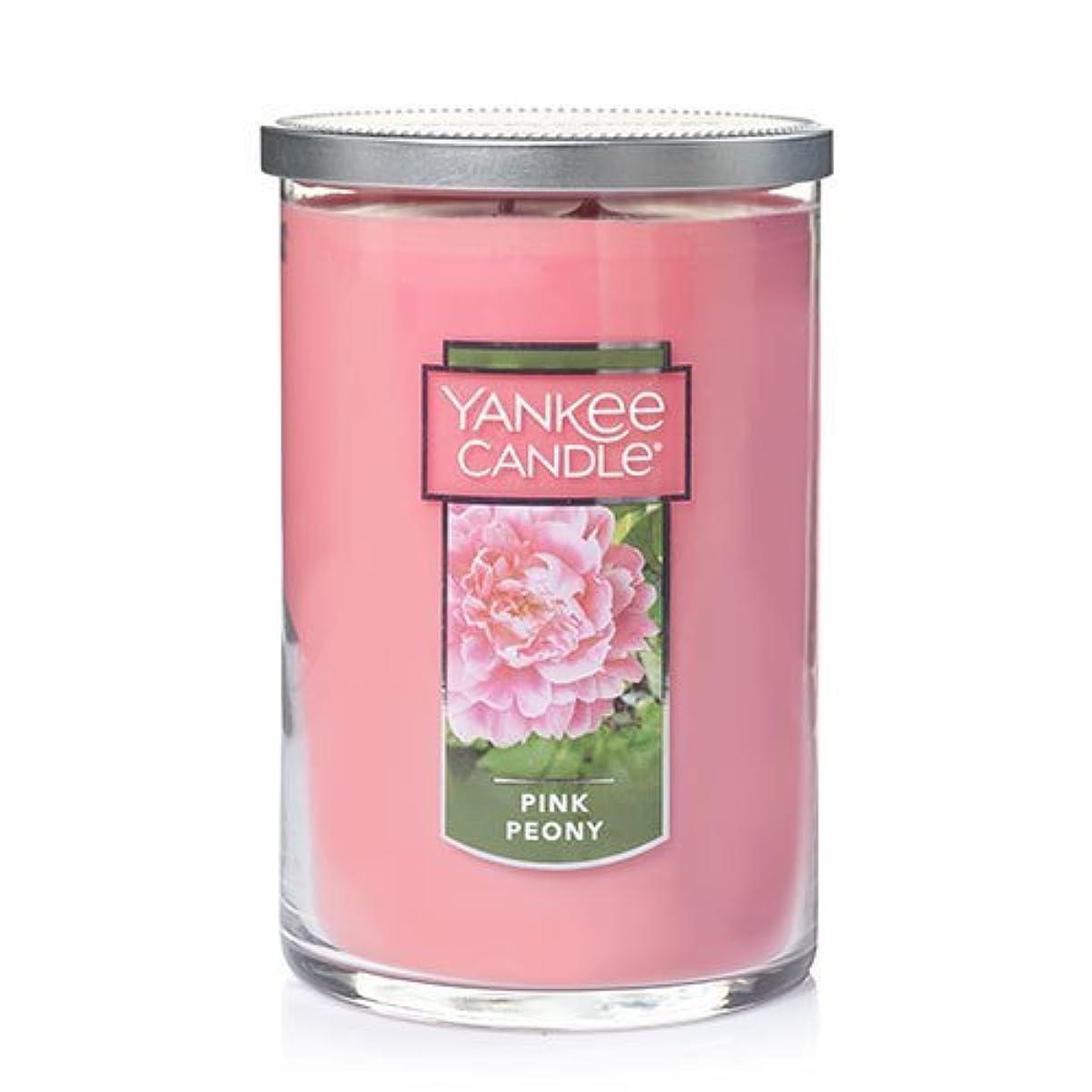 ラテンストラトフォードオンエイボン立ち向かうYankee Candle Companyピンク牡丹Large 2-wickタンブラーCandle , Food & Spice香り