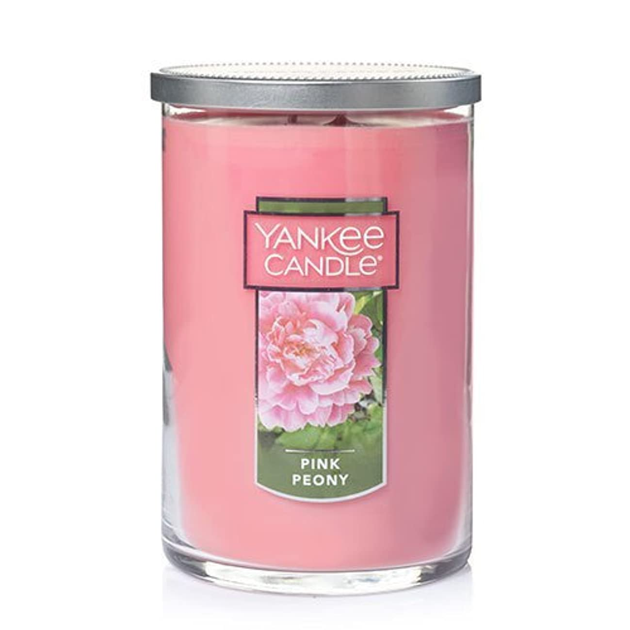 特定の塗抹家具Yankee Candle Companyピンク牡丹Large 2-wickタンブラーCandle , Food & Spice香り