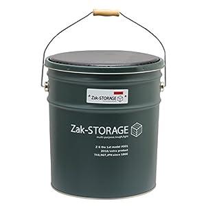 高儀 Zak-STORAGE オイルペールスツール L グリーン OS-200LG
