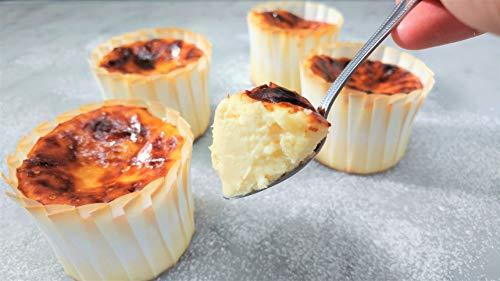 バスクチーズケーキ(小)4個セット 美食の街サンセバスチャン発祥のチーズケーキでとろける食感