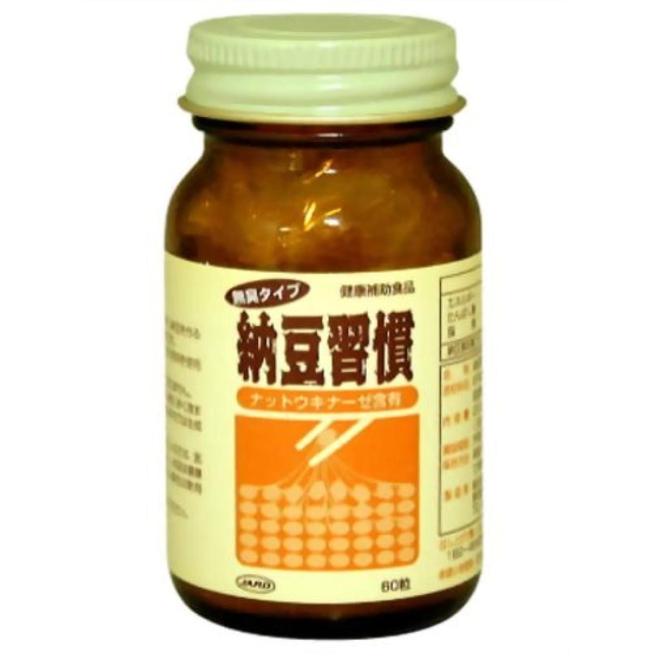 毛布熟達提供する納豆習慣 ナットウキナーゼ含有