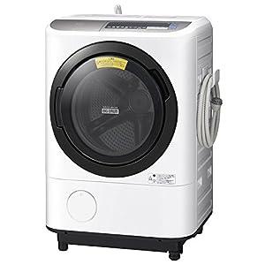日立 ドラム式洗濯乾燥機 ビッグドラム 左開き 12kg ダークシルバー BD-NX120BL S
