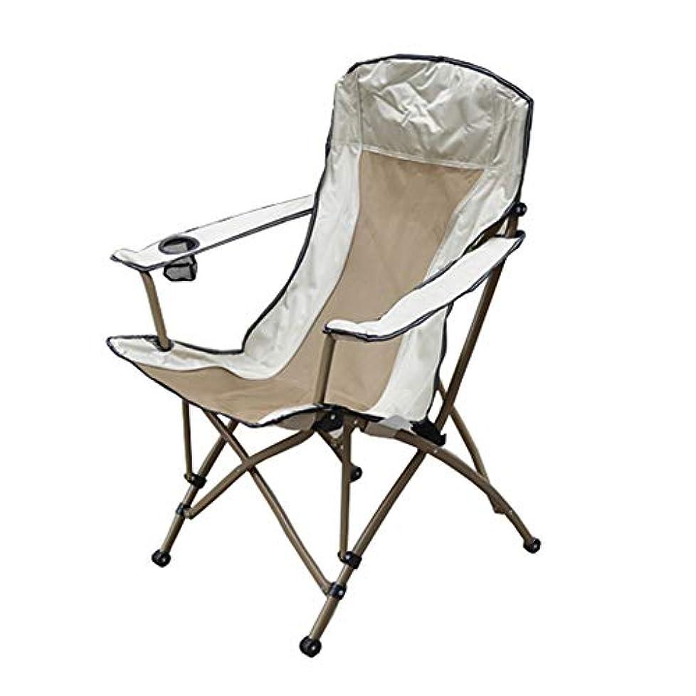チャンピオンネクタイ電話をかけるNEVY アウトドア キャンプ椅子 折りたたみ椅子 コンパク アルミ合金 ポータブル 収納バッグ付き 登山 釣り チェア、ゴールド