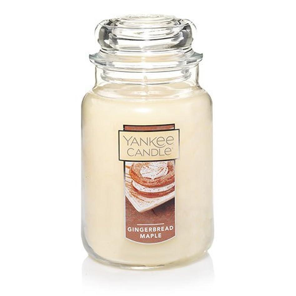 カーペット不名誉な施設Yankee Candle Gingerbread Maple Large Jar Candle、Festive香り
