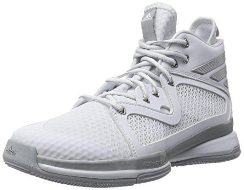 [アディダス] adidas バスケットボールシューズ アディゼロ PG AQ8473 AQ8473 (ランニングホワイト/シルバーメット/クリアオニキス/25.5)