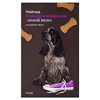 [Waitrose ] カリカリ&健全ミューズリービスケット骨のウェイトローズの750グラム - Crunchy & Wholesome Muesli Biscuit Bones Waitrose 750g [並行輸入品]