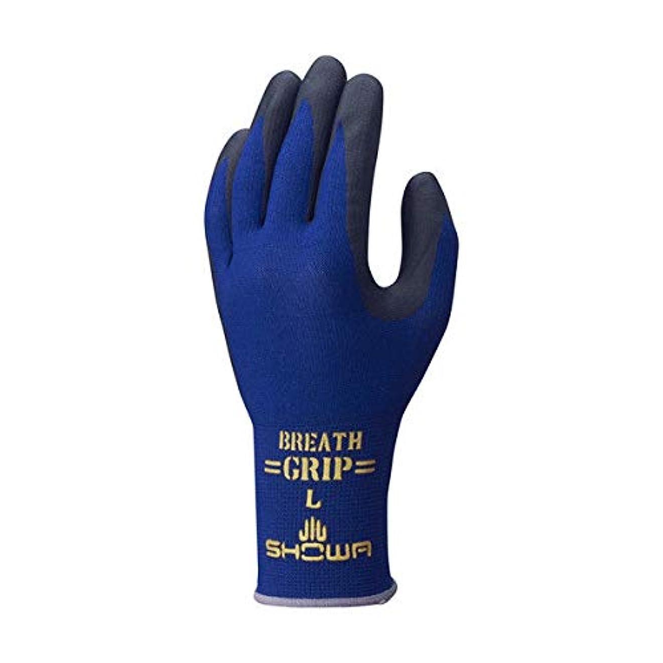 鳩恋人話す[ショーワ] 作業手袋 ブレスグリップ type-R 1双 380R