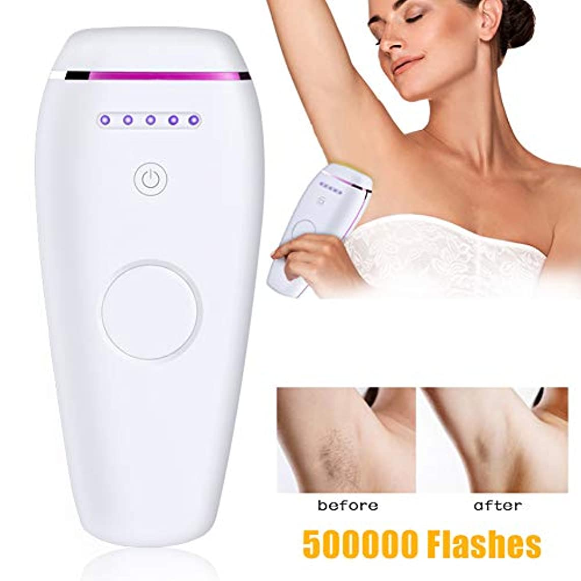 防ぐに応じて悩むNSSZ Home intelligent induction photon hair removal instrument laser skin rejuvenation painless hair removal armpit...