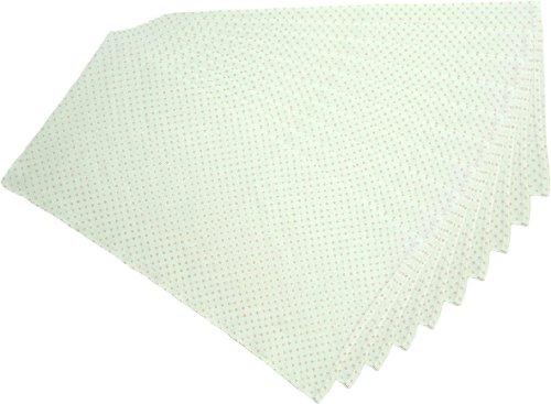日本製 10枚組 ドビー織 水玉柄 仕立て布おむつ ピンク TK703