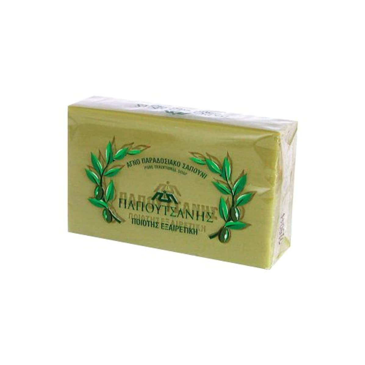 ペイントバリケードペイントギリシャの石鹸 パポタニス125g