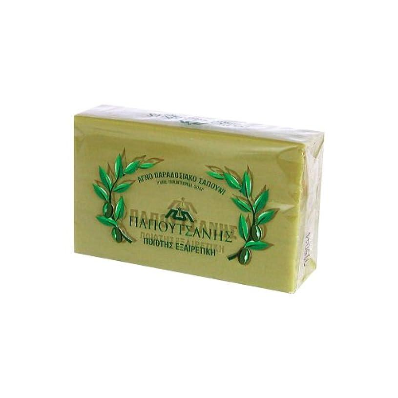 策定する強化する報奨金ギリシャの石鹸 パポタニス125g