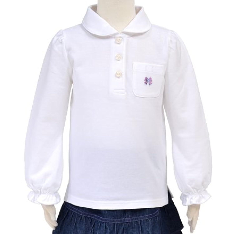 長袖ポロシャツ?女 長袖 日本製 Wリボン N1550620