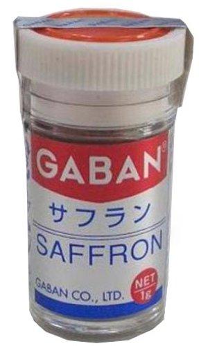GABAN サフランパウダー 1g