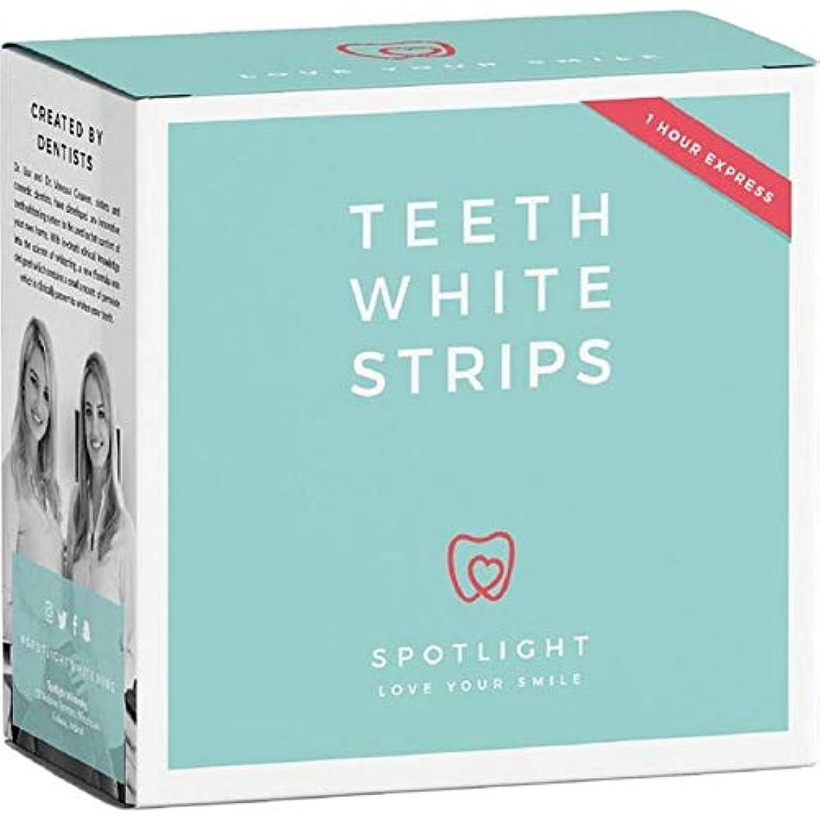 支配的蛇行評価可能[Spotlight Teeth Whitening ] スポットライトホワイトニング歯ホワイトストリップ - Spotlight Whitening Teeth White Strips [並行輸入品]