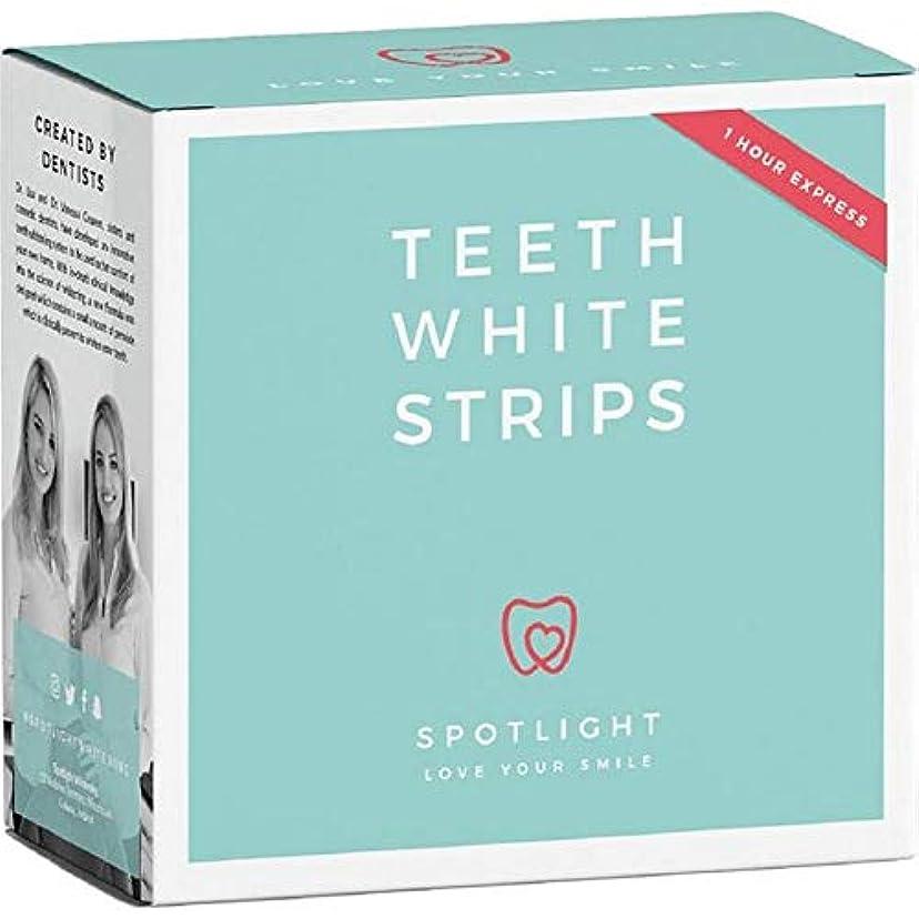 貼り直す庭園花火[Spotlight Teeth Whitening ] スポットライトホワイトニング歯ホワイトストリップ - Spotlight Whitening Teeth White Strips [並行輸入品]
