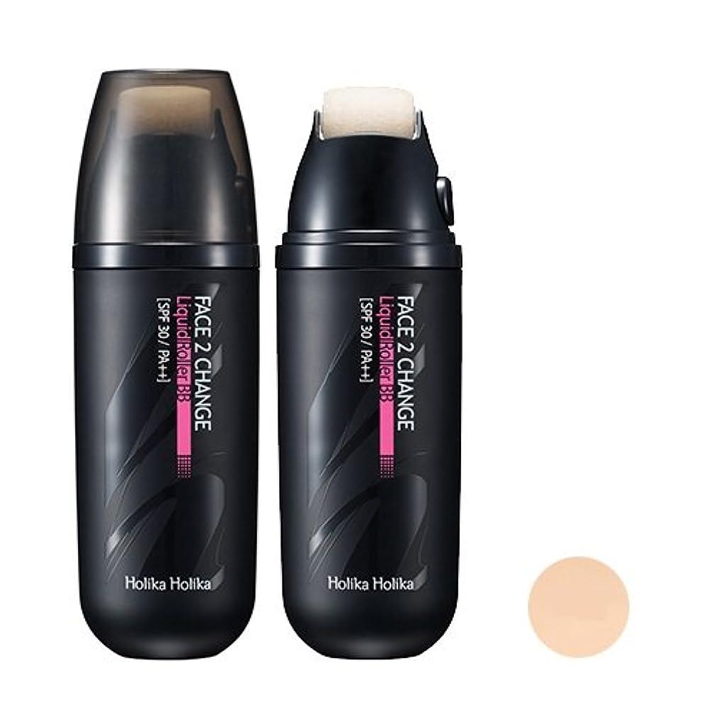 オンチャレンジ学校の先生[Holika Holika/ホリカホリカ] フェイス 2チェンジ リキッドローラーBB クリーム (SPF30 PA++) 2タイプ?韓国コスメ/ Face 2 Change Liquid Roller BB Cream...