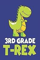 3rd Grade T-Rex: Third Grade Boys Back To School Class Activity Workbook