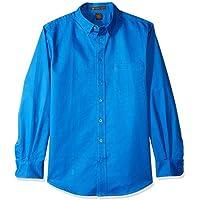 AquaGuard Men's HART-M581-Foundation Long-Sleeve Twill Shirt with Teflon