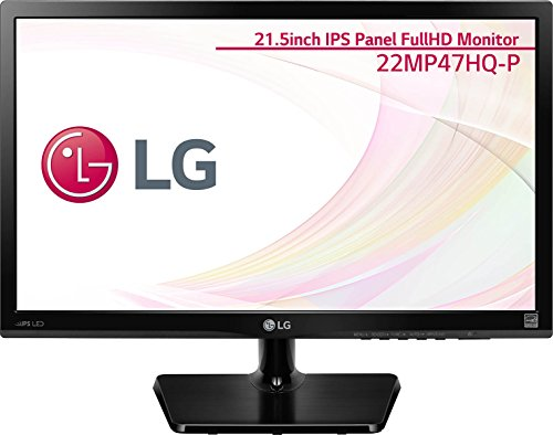 LG Electronics Japan 21.5型 AH-IPS非光沢 1920×1080 ブラック 22MP47HQ-P