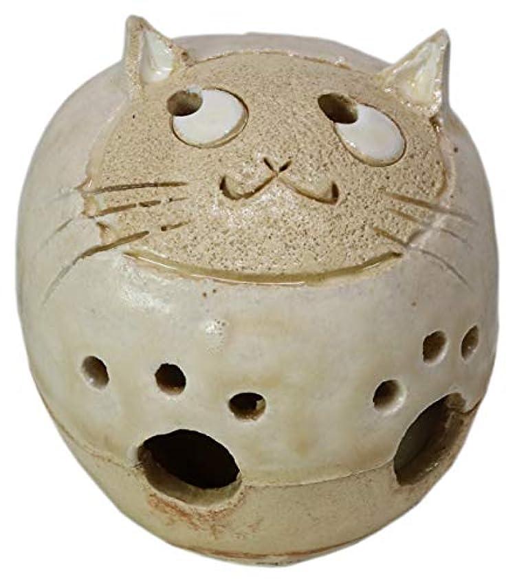 損失カード裁判官香炉 丸猫 香炉(小) [H6cm] HANDMADE プレゼント ギフト 和食器 かわいい インテリア