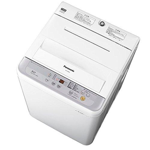 パナソニック 5.0kg 全自動洗濯機 シルバーPanasonic NA-F50B10-S