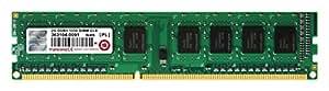 Transcend デスクトップPC用メモリ PC3-10600 DDR3 1333 2GB 1.5V 240pin DIMM (無期限保証) JM1333KLN-2G