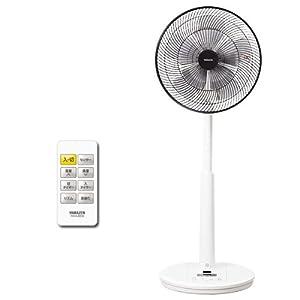山善(YAMAZEN) (DCモーター搭載)30cmリビング扇風機&サーキュレーター(人体感知センサー・静音モード搭載)(リモコン)(風量8段階)入切タイマー付 ホワイト YHCX-BD30(W)