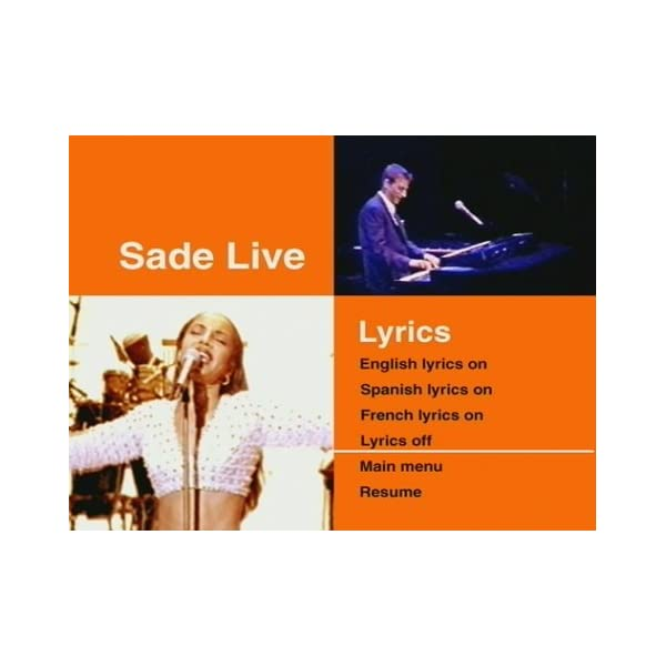 Sade Live [DVD] [Import]の紹介画像6