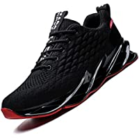 Vooncosir Mens Running Shoes Breathable Walking Blade Non Slip Athletic Tennis Shoes Lightweight Fashion Sneakers