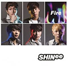 SHINee「Fire」のジャケット画像