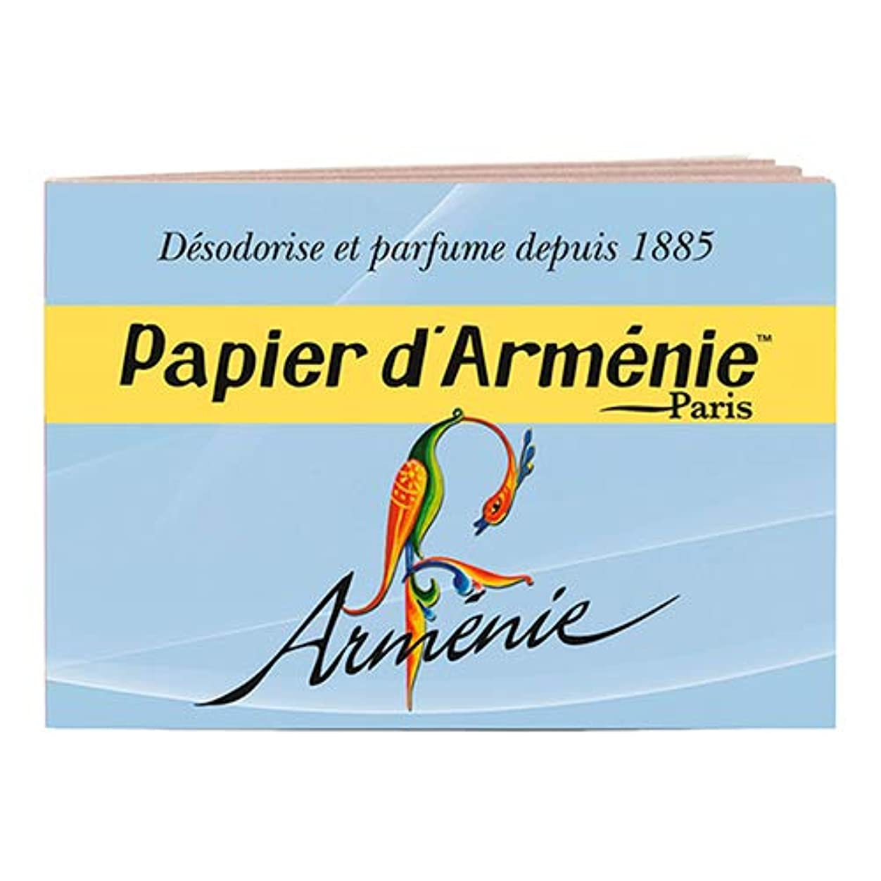 透明に望ましい開発パピエダルメニイ トリプル (青) 1冊(1シート3回分×12枚/36回分) アルメニイ(アニー) 紙のお香 インセンス PAPIER D'ARMENIE [並行輸入品]