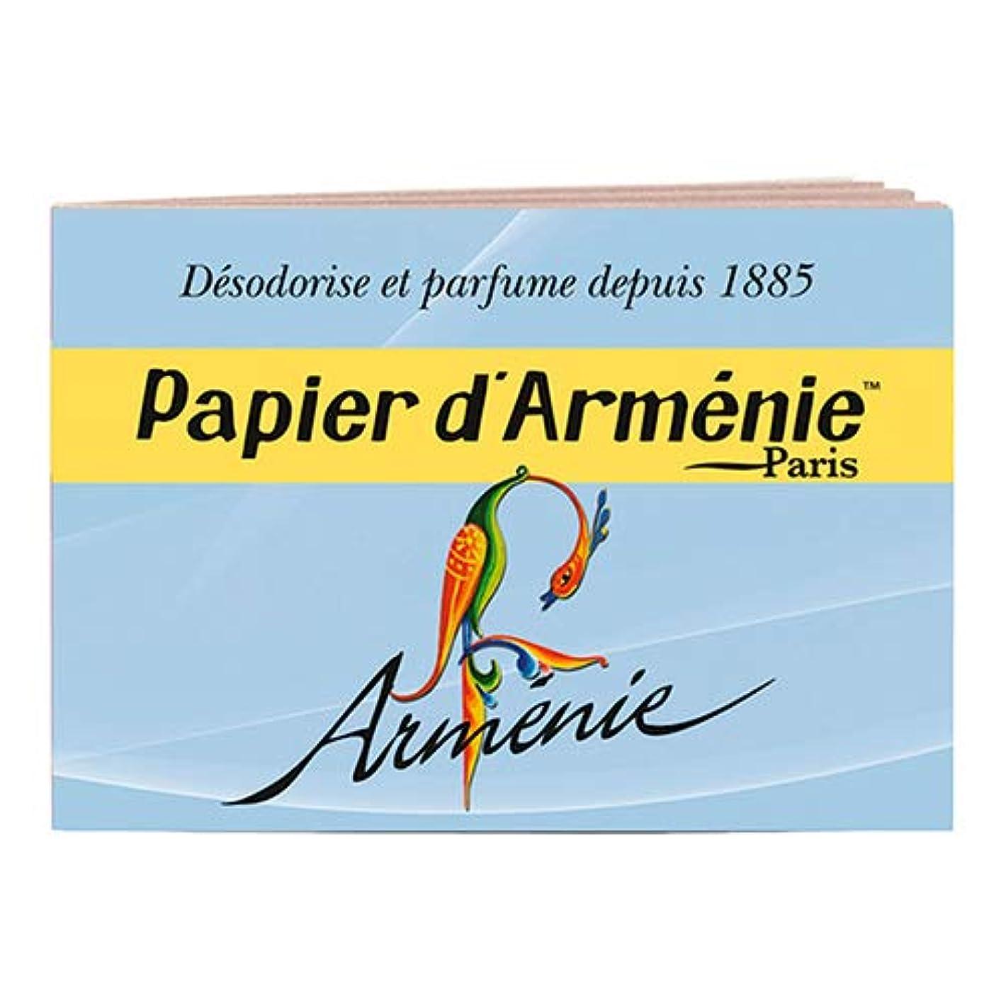 トランスペアレントブリード取り壊すパピエダルメニイ トリプル (青) 1冊(1シート3回分×12枚/36回分) アルメニイ(アニー) 紙のお香 インセンス PAPIER D'ARMENIE [並行輸入品]