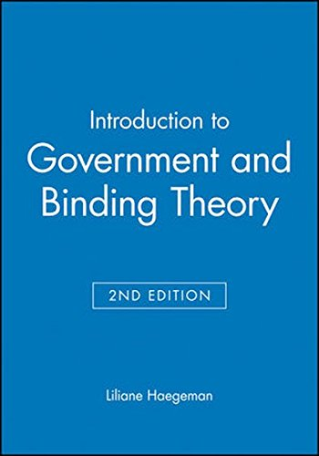 Introduction to Government and Binding Theory (Blackwell Textbooks in Linguistics)の詳細を見る