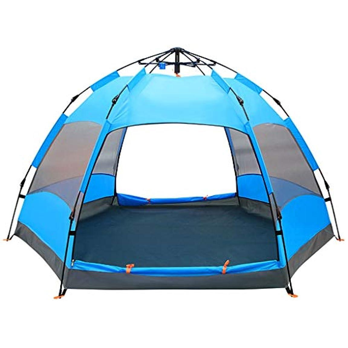 回転まつげ軽減するALUP- テントアウトドア全自動キャンプ場ファミリーレジャー設備5-8