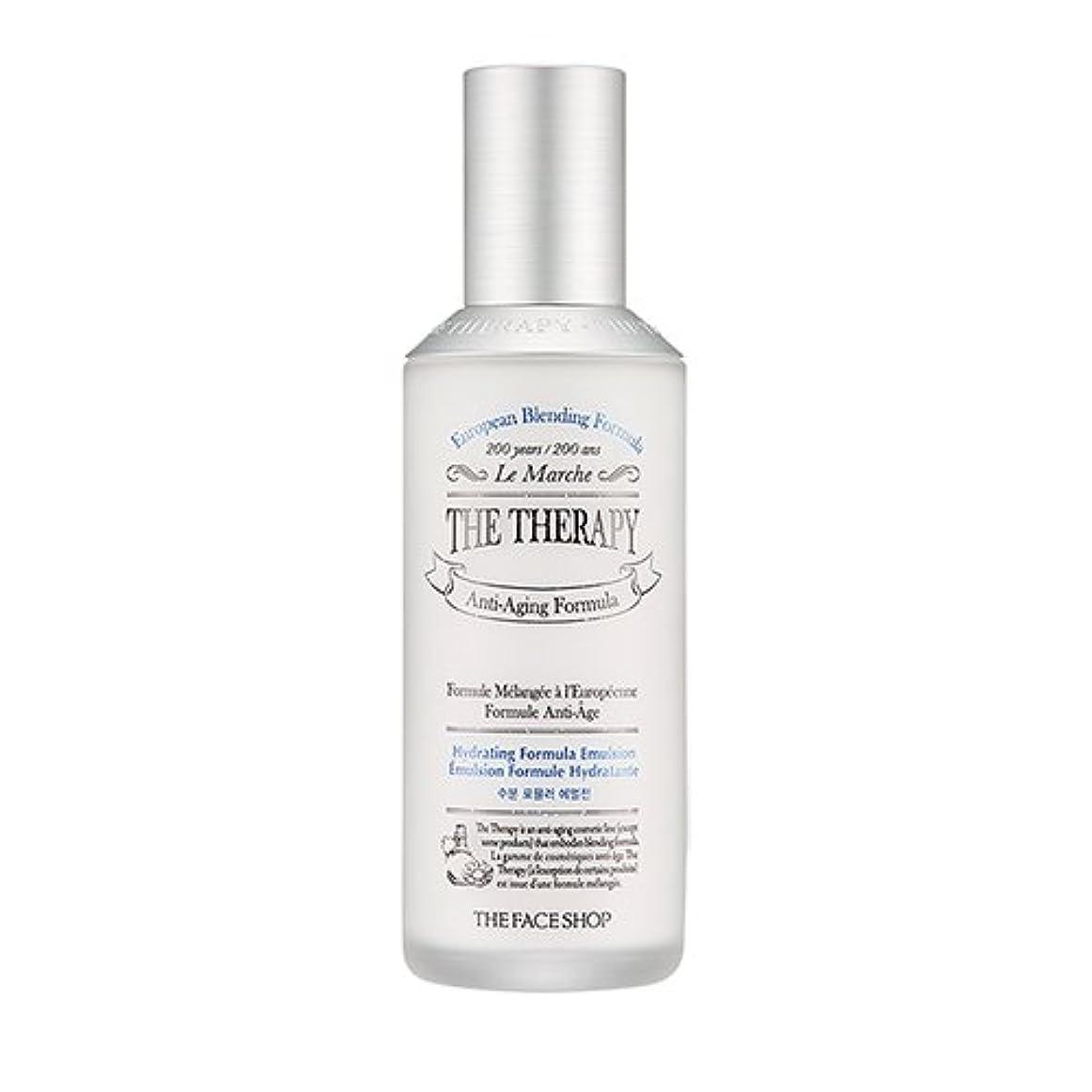 宣伝長いです活力THE FACE SHOP The Therapy Hydrating Formula Emulsion 130ml/ザフェイスショップ ザ セラピー ハイドレーティング フォーミュラ エマルジョン 130ml