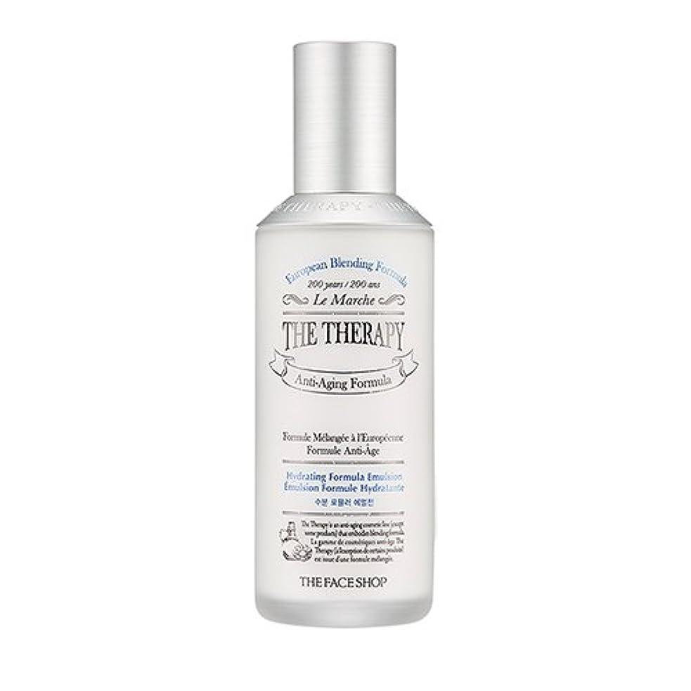 罹患率伝統緊急THE FACE SHOP The Therapy Hydrating Formula Emulsion 130ml/ザフェイスショップ ザ セラピー ハイドレーティング フォーミュラ エマルジョン 130ml